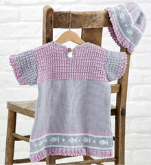 Vintage Style Child's Dress and Hat