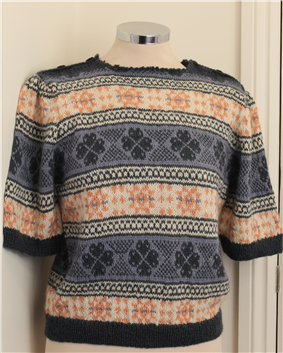 Fair Isle Frenzy Short Sleeved Jumper