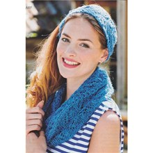 Lacy Snood and Headband