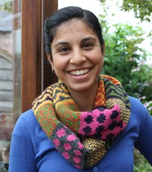Funky Fair isle Snood Downloadable Pattern