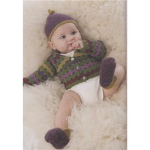Baby Highland Dreams - Downloadable Knitting Pattern