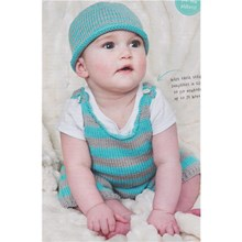 Little Stripe Hat and Dungarees