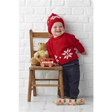 Snowflake-Christmas-Jumper-Knitting-Kit