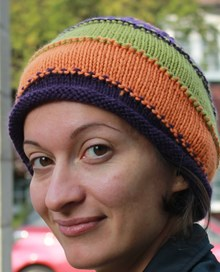 3 Tone Beanie Downloadable Pattern