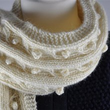 Sweet Cable Scarf