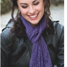 Elegant Scarf Knitting Kit