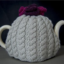 Roses Tea Cosy Kit With Cosies Galore Book