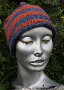 Simple Beanie - Downloadable knitting pattern