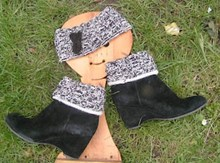UK Alpaca Headband and Bootcuffs - Downloadable pattern