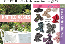 BOOK BUNDLE - Knitted Cosies & Easy Knitted Scarves