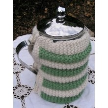 Rouched cafetiere cover - Knitting kit