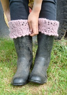 Chic Boot toppers - Downloadable knitting pattern