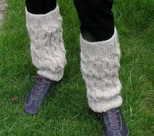 Chunky Legwarmers - Knitting kit