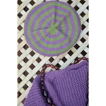 Heather and Moss Beret - Knitting kit