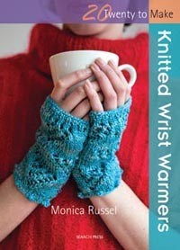 Knitted Wrist Warmers - Pattern Book Special offer price includes postage