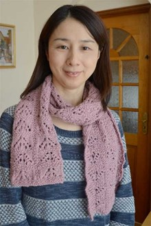 Toasty Lacy Scarf - Downloadable pattern