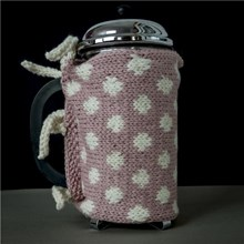 Dotty Cafetiere Cover with Cosy Galore Book