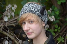 Vintage Headband in UK Alpaca - Downloadable knitting pattern