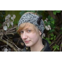Alpaca Headband Knitting kit