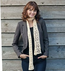 Lacy Scarf (Featured in Simply Knitting) - Knitting kit
