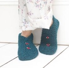 Snuggly Slippers - Downloadable Knitting Pattern