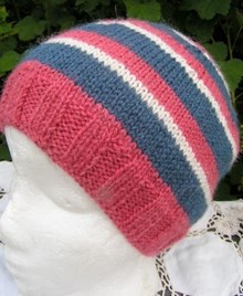 UK Alpaca Beanie Hat Knitting Kit