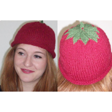Very berry beanie - Downloadable pattern